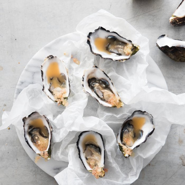 Citrus Oysters