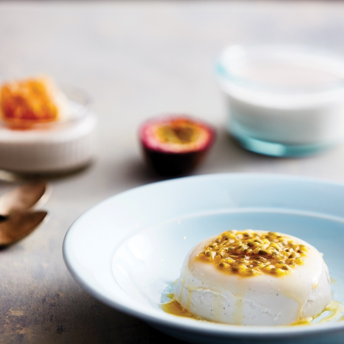 "Coconut ""panna cotta"""