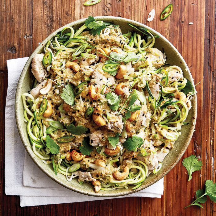 Ginger & Sesame Chicken with Zoodles