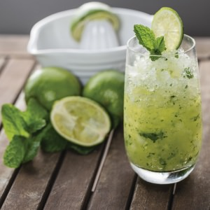 Coconut, Lime  & Mint Crush