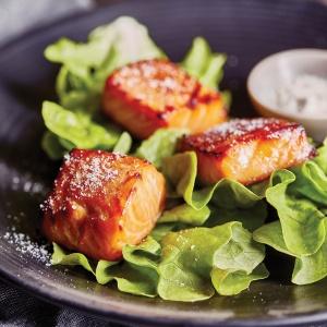 Miso Salmon Bites