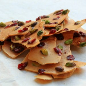 Caramelised White Chocolate Bark