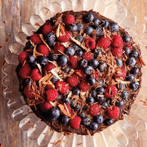 Dairy-Free Flourless Chocolate Cake