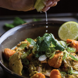 Chicken, Sweet Potato & Coconut Curry