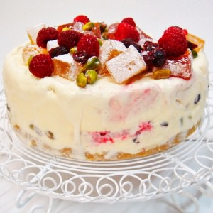 Christmas Ice Cream Torte