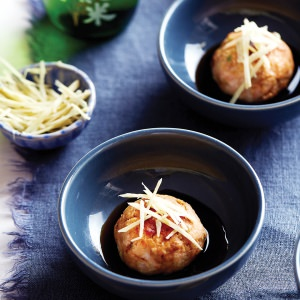 Salmon & Prawn Fish Cakes with Ponzu Soy