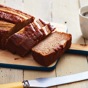 Whole-Wheat Graham Crackers Banana Bread
