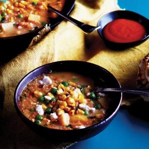 Sopa de quinoa d'Equador (Quinoa soup, from Ecuador)