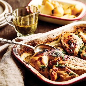 Mrs Scorsese's Lemon & Garlic Chicken