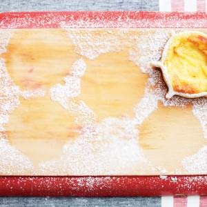 Pardulas—Sardinian Ricotta & Saffron Cakes