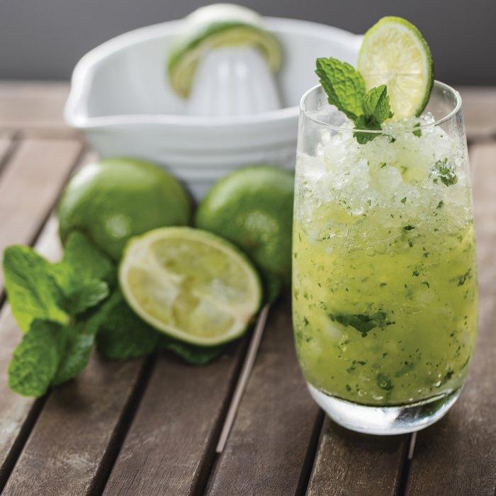 Coconut, Lime  & Mint Crush