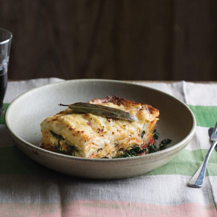 Spinach, Tomato & Cheese Lasagne