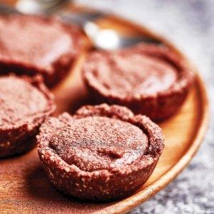 Raw Chocolate Tarts