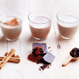 Trio of Almond Milks