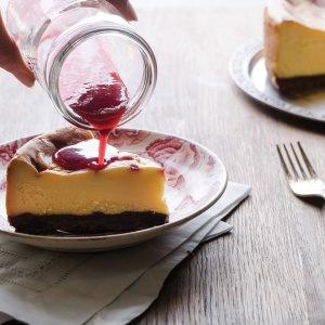 Bistro I's White Chocolate Cheesecake