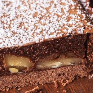Chocolate & Walnut Tart
