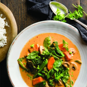 What-you-have-in-the-fridge Vegetable Curry