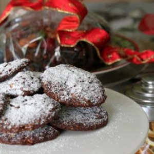 Nutty Nougat Chocolate Biscuits