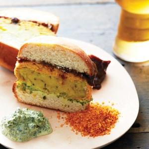 Indian Vegetarian Burger (Vada Pav)