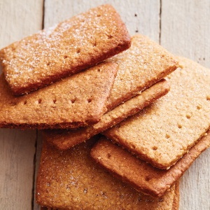 Graham Crackers + Whole-Wheat Flour Substitute for Graham Crackers