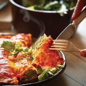Canelones de carne y espinaca (Argentinian cannelloni)