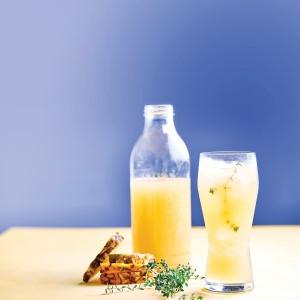 Pineapple &  Thyme Iced Tea
