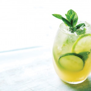 Cucumber, Lime & Mint Spritzer
