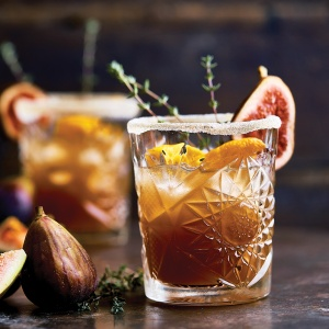 Fig Old-Fashioned with a Twist