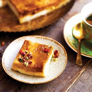 Turkish Kazan Dibi (Burned Bottom Milk Pudding)