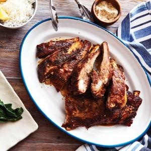 Pork ribs with Sichuan salt