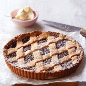 Crostata with Fig &   Raspberry Jam