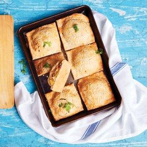 Chaussons aux Legumes et au Fromage (Cheese & Vegetable Parcels)